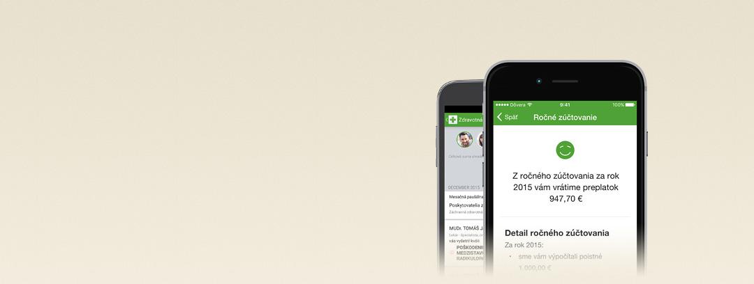 Ročné zúčtovanie v mobile