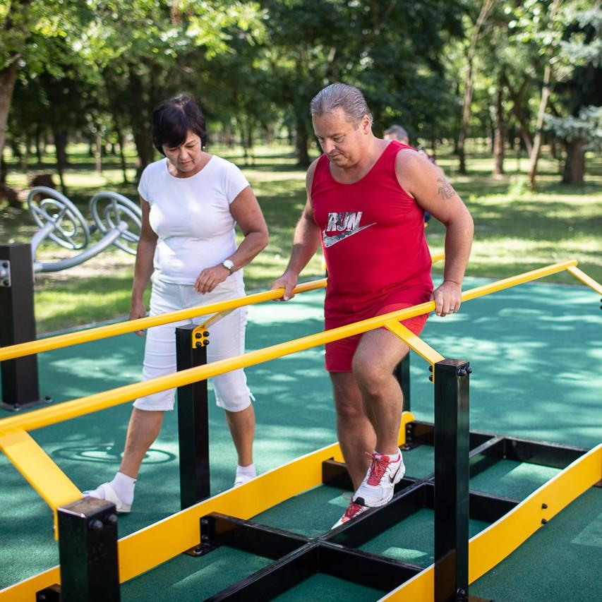 Financovali sme nový rehabilitačný park v Lehniciach