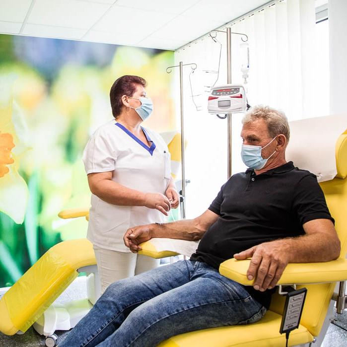 Nový stacionár pre onkologických pacientov