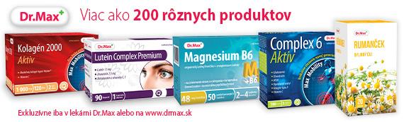 4172f15c55 Vianočná zľava na viac ako 200 produktov v lekárňach Dr.Max ...