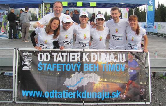 Cez víkend behom Od Tatier k Dunaju
