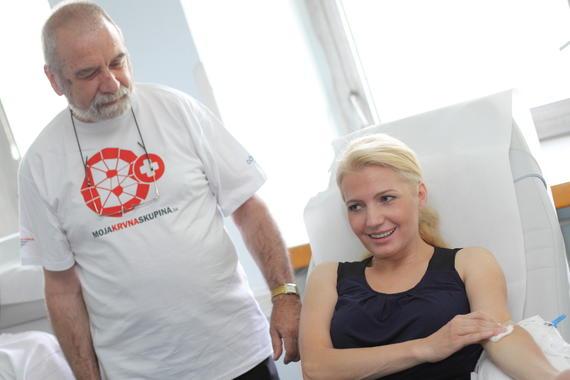 Ambasádorkou darcov krvi je Aneta Parišková