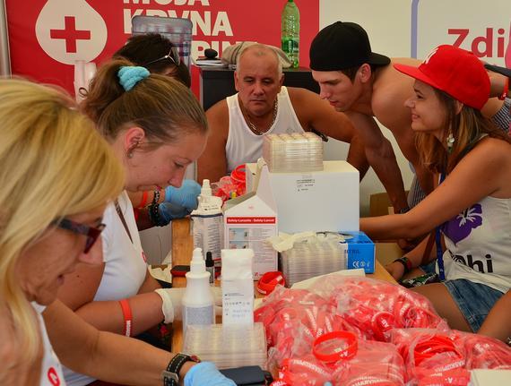 Moja krvná skupina je na cestách s Festivalom zdravia