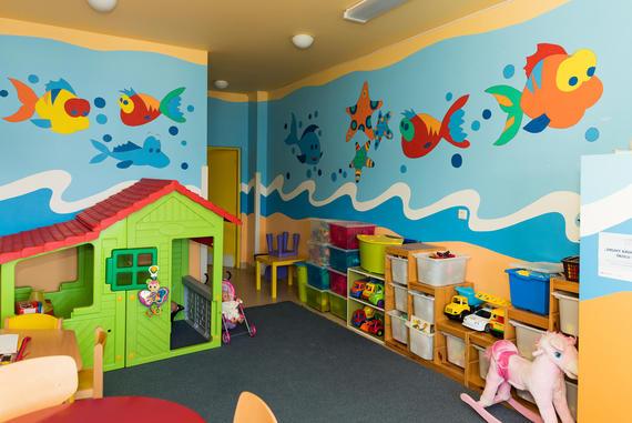 Farebné detské oddelenie v Liptovskej nemocnici