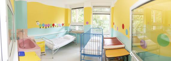Vynovené detské oddelenie v Považskej Bystrici