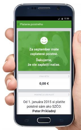 Mobilná aplikácia Dôvery dostala nové funkcie
