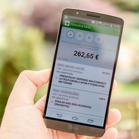 Mobilná aplikácia Dôvera