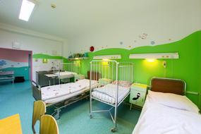 Veselé farby v piešťanskej nemocnici