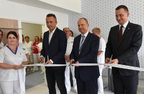 Nové miestnosti pre pacientov v trebišovskej nemocnici
