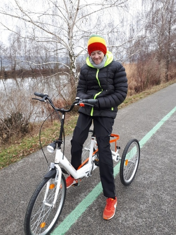 Bicykel pre dvojmetrového velikána