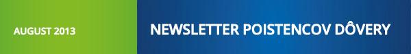 Newsletter poistencov Dôvery